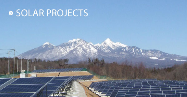 Nippon Solar projects